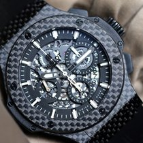 Hublot Big Bang Aero Bang occasion 44mm Noir Chronographe Date Caoutchouc