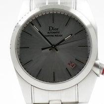 Dior Chiffre Rouge Stal 36mm Srebrny