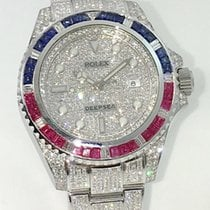 Rolex Deep Sea PEPSI - ICE - Baguette Bezel Diamonds  ICED OUT