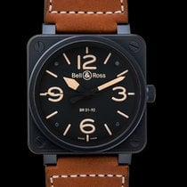 Bell & Ross BR 01-92 Steel 46.00mm Black United States of America, California, San Mateo