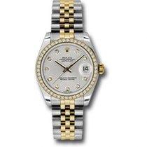 Rolex Lady-Datejust nuevo Automático Reloj con estuche y documentos originales 178383 SDJ