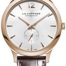Chopard Rose gold Automatic Silver 40mm new L.U.C