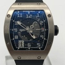 Richard Mille Or blanc 38mm Remontage automatique RM005 nouveau