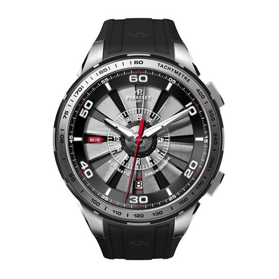 Perrelet Tourbine 47mm Date Automatic Chrono Mens Watch 1074 2 za Kč 102  739 k prodeji od Seller na Chrono24 26403ff69f6