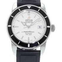 Breitling SuperOcean Heritage A17321 Watch with Rubber...