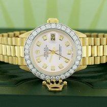 Rolex Lady-Datejust Geelgoud 26mm Roze