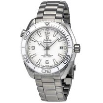 Omega Seamaster Planet Ocean Steel 42mm White