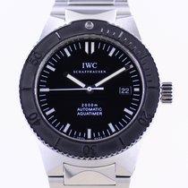 IWC Aquatimer Automatic 2000 Otel 42mm Negru Fara cifre