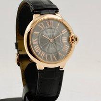 Cartier Ballon Bleu 40mm Rose gold 40mm Grey Roman numerals