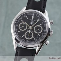 TAG Heuer Carrera Calibre 17 Steel 38.5mm Black