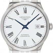 Longines Record L2.821.4.11.6 2019 new
