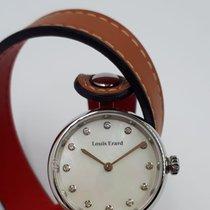 Louis Erard Stahl 30mm Quarz 19830AA14 neu