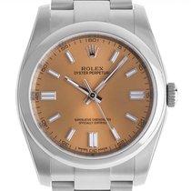 Rolex Oyster Perpetual 36 neu Automatik Uhr mit Original-Box und Original-Papieren 116000