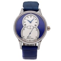 Jaquet-Droz Grande Seconde White gold 39mm Blue Roman numerals United States of America, Pennsylvania, Bala Cynwyd