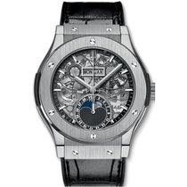 Hublot Classic Fusion Aerofusion Titanium 42mm Transparent No numerals United Kingdom, London