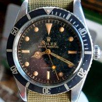 Rolex Submariner (No Date) gebraucht Schwarz Stahl