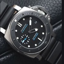 Panerai Luminor Submersible PAM00683 - PANERAI LUMINOR SUB Ghiera Nera Automatico Neuve Acier 42mm Remontage automatique