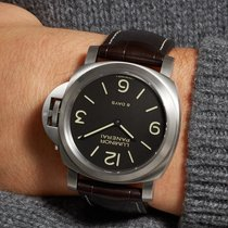 Panerai Luminor Base 8 Days PAM00562 Panerai LUMINOR Titanio Marrone Pelle 44mm 2020 new