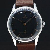 Omega Handaufzug Black Dial cal.268 anno 1961