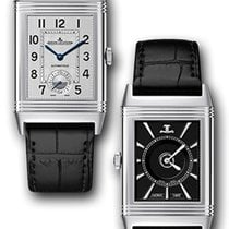3432b4c3bb5 Jaeger-LeCoultre Reverso Classic Large Duoface Stainless Steel.
