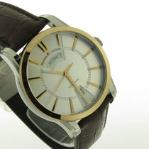 Maurice Lacroix Pontos Day Date nieuw 40.00mm Goud/Staal