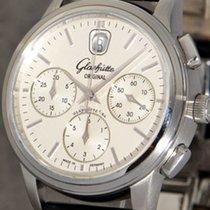 Glashütte Original Senator Chronograph Stahl 39mm Silber Keine Ziffern Deutschland, Mannheim