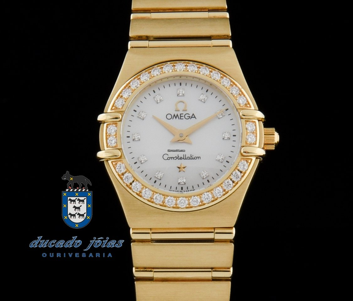 ac4e97b23f1 Omega Constellation Ouro amarelo - Todos os preços de relógios Omega  Constellation Ouro amarelo na Chrono24