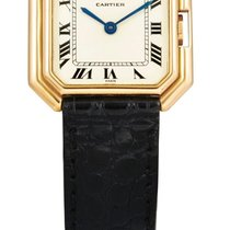 Cartier | A Lady's Yellow gold Octagonal wristwatch...