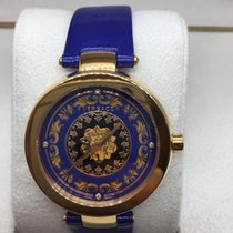a76554ae640 Versace New Mystique Foulard VK602 0013 Gold Tone Quartz for Rp ...