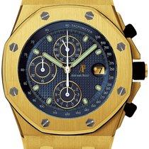 Audemars Piguet Royal Oak Offshore Chronograph Gelbgold 42mm Weiß Keine Ziffern