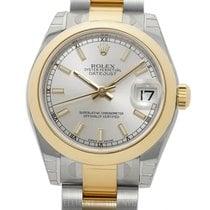 Rolex Lady-Datejust 178243 Unworn Gold/Steel 31mm Automatic