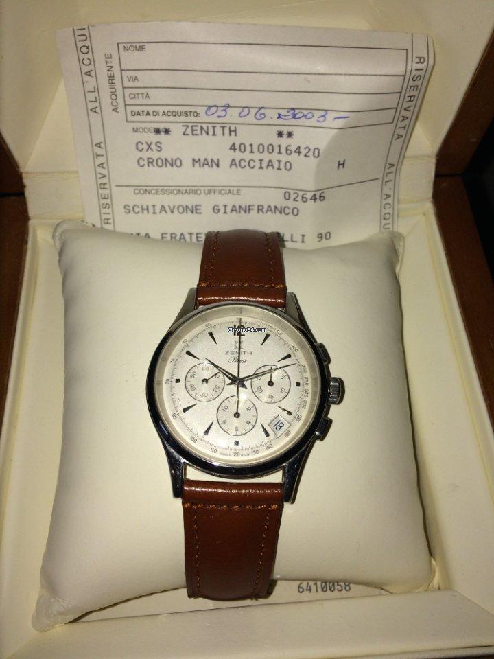 babb424b844 Orologi Zenith - Tutti i prezzi di orologi Zenith su Chrono24