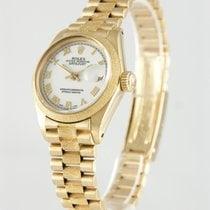 Rolex Lady-Datejust Gelbgold 26mm Weiß Römisch Deutschland, Heilbronn