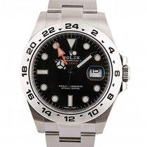 Rolex Explorer II Steel 42mm Black No numerals UAE, Dubai