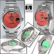 Rolex Day-Date 36 nuovo Automatico Orologio con scatola e documenti originali 118209