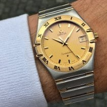 Omega Constellation Quartz Acero y oro 33.5mm Oro