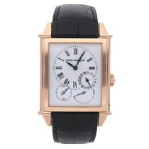 Girard Perregaux Rose gold Automatic White Roman numerals 37mm pre-owned Vintage 1945