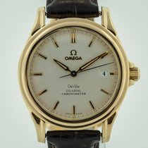 Omega De Ville Co-Axial Yellow gold 37.5mm Silver No numerals United States of America, California, Pleasant Hill