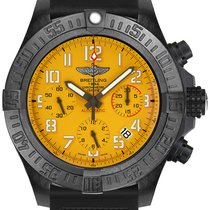 Breitling Plastic Automatic Yellow Arabic numerals 45mm new Avenger Hurricane