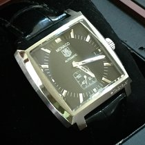 TAG Heuer Monaco Calibre 6 Steel 37mm Black No numerals United States of America, Texas, Harker Heights