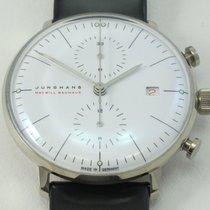 Junghans max bill Chronoscope White gold White No numerals
