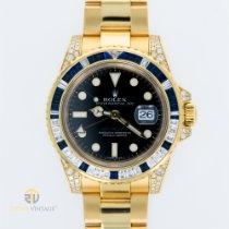 Rolex 116758SA Zuto zlato 2000 GMT-Master II 40mm rabljen