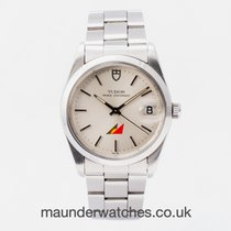 Tudor Prince Date Steel 34mm Silver No numerals