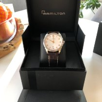 Hamilton Jazzmaster Thinline pre-owned 42mm Date Leather