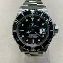 Rolex Submariner Date pre-owned 40mm Black Steel