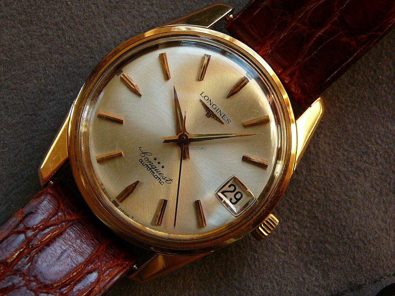 97d51008b8e Longines Conquest Ouro rosa - Todos os preços de relógios Longines Conquest  Ouro rosa na Chrono24
