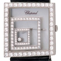Chopard Happy Spirit Weißgold 30mm Perlmutt