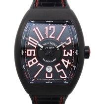 Franck Muller Vanguard Titanium Black Automatic V 45 Sc Dt Tt...