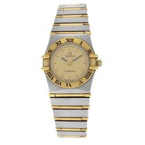 オメガ (Omega) Authentic Ladies Omega Constellation 22MM Steel...