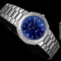 Baume & Mercier Mens Riviera Watch with Royal Blue Dial -...